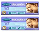 Health & Personal Care : Lansinoh HPA Lanolin for Breastfeeding Mothers, 40 Grams (Pack of 2; 80 Grams Total)