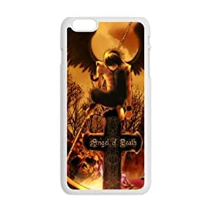 LJF phone case Angel of death unique Cell Phone Case for Iphone 6 Plus