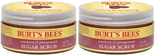 Burt's Bees Cranberry and Pomegranate Sugar Scrub - 8 oz - 2 pk
