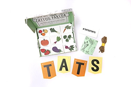 Tater Tats Pop-Up Tattoo Parlor: 225 Temporary Vegetable Tattoos]()
