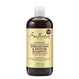 4. Shea Moisture Jamaican Black Castor Oil Shampoo (16.3 Oz.)