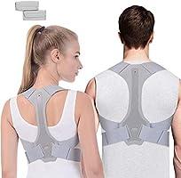 ANOOPSYCHE Corrector de Postura Espalda Hombros Para Hombre y Mujer Talla Asjustable Chaleco Corrector de Postura...
