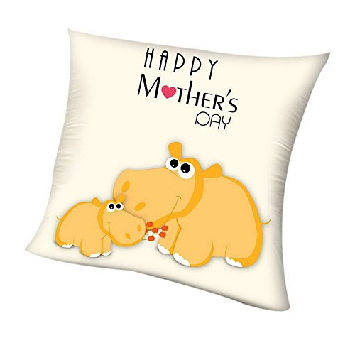 Gentle Meow El Mejor Regalo del día de la Madre Love Pillow Home Pillow Sofa Lumbar Pillow, Animal Caress