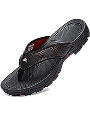 VVQI Men's Sport Flip Flops Comfort Casual Thong Sandals Outdoors