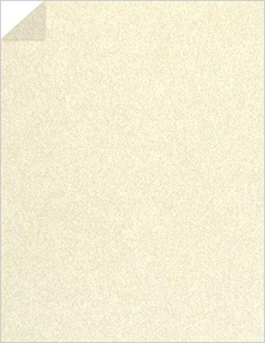 Pergamenata Ivory Paper - 8 1/2 x 11 Parchment Vellum, 74lb Text, 50 Pack