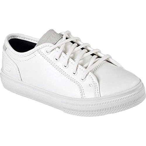 Skechers Boys' Relaxed Fit Gallix Hixon Sneaker, Off White, US 5 M SKECHERS USA Inc