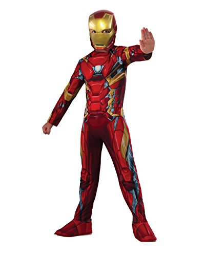 Rubie's Costume Captain America: Civil War Value Iron Man Costume, (Ironman Halloween Costumes)