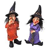 Cheap Darice Miniscape Halloween Witch: 5″, 2 Assorted Styles