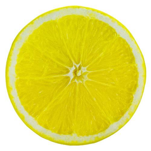 Das Zitronensitzkissen nach Maß - in gelb