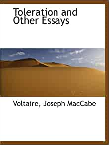 toleration and other essays by voltaire