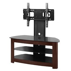 we furniture 42 inch 4 in 1 tv stand with removable mount espresso black kitchen. Black Bedroom Furniture Sets. Home Design Ideas