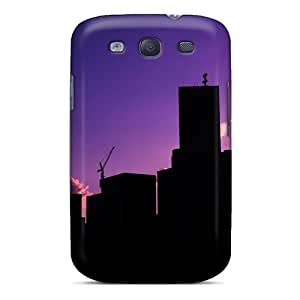 QTN2616sbdK Case Cover Urban Sunset Galaxy S3 Protective Case