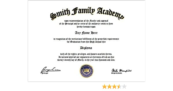 Amazoncom High School Diploma High School GED GED Lover By - Free high school diploma template with seal