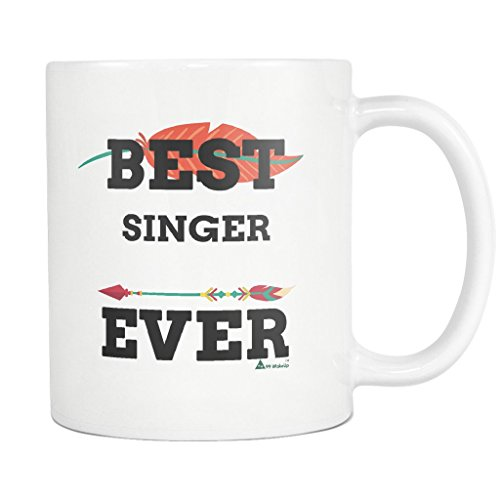 (Singer Mug Coffee Cup - Bet Singer Ever - 11 Oz Funny Gift Ideas for School Future Student Retirement Retired Mom Dad Mother Father Men Women)