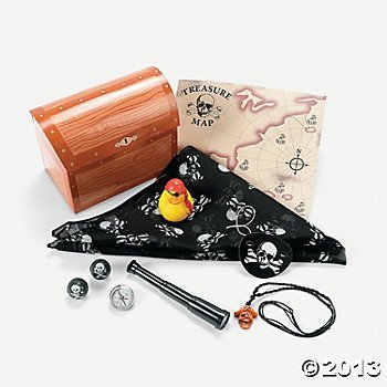 Amazon.comPirate Party Treasure Chest Filled Treat Box/Pirate