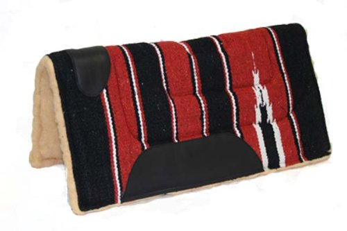 Padded Fleece Lined Western Navajo Saddle Pad 22