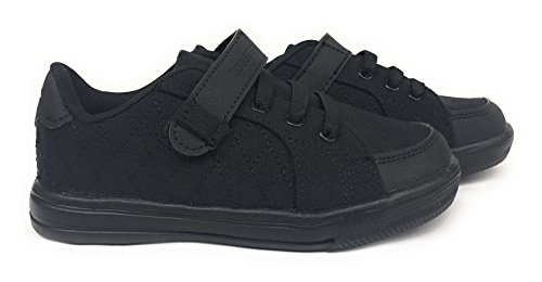 All Black Shoes For Kids - 8