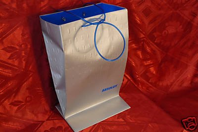 (ABSOLUT Vodka Original BAG Rare )