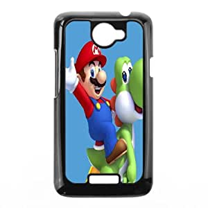 Super Mario Bros HTC One X Cell Phone Case Black Exquisite gift (SA_632709)