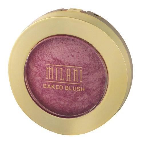 Milani Baked Powder Blush, Dolce Pink [01] 0.12 oz (Pack of 2)