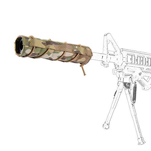 IDOGEAR Airsoft Suppressor Cover 7 inch / 18cm 500D Nylon