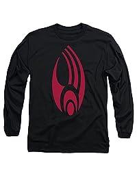 Star Trek/Borg Logo Mens Long Sleeve Shirt