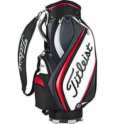 Titleist 2013 Midsize Staff Bag Black-Red (NEW)