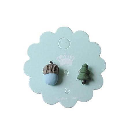 Daliiuing Pendientes de cerámica Kawaii, Pendientes de ...