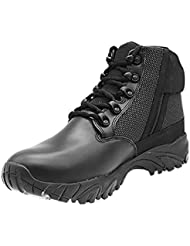 ALTAI 6 Side Zip Black Tactical Boots Model: MFT100-ZS