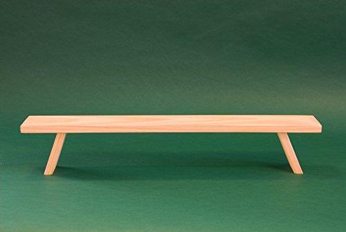 Unterstellbank Fuß Erhöhung Bank Fensterbank für Schwibbogen Lichterbogen Breite 60 cm