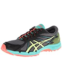 Asics Gel Fujiracer 3 Women's Running Shoes Charcoal/Shrp Green/Coral