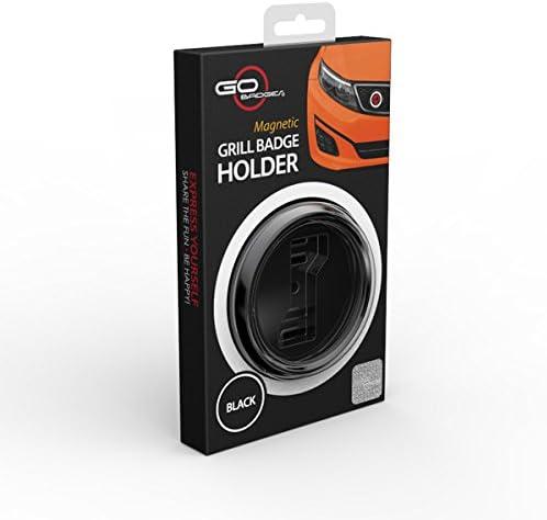GoBadges BKC024 Flag UK Blackjack Magnetic Black Grill Badge Holder Combo//Universal Fit//No Tools Required//Weather-Proof And Car-Wash Safe