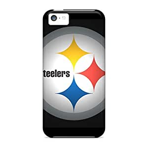 Hot Fashion Mns1313aWeR Design Case Cover For Iphone 5c Protective Case (pittsburgh Steelers)