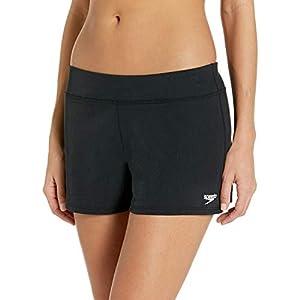 Speedo Women's Swimsuit Bottom Shorts Bio Endurance Solid