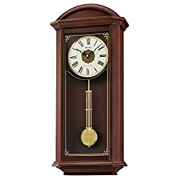 Seiko Wood Wall Clock (Model: QXH065BLH)