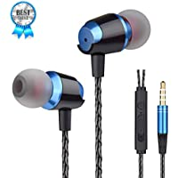 Earbuds Earphones with Pure Sound and Powerful Bass...