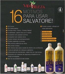 Salvatore Blue Gold Hair Straightening   Brazilian Keratin Treatment 2L by Blue Gold (Image #7)