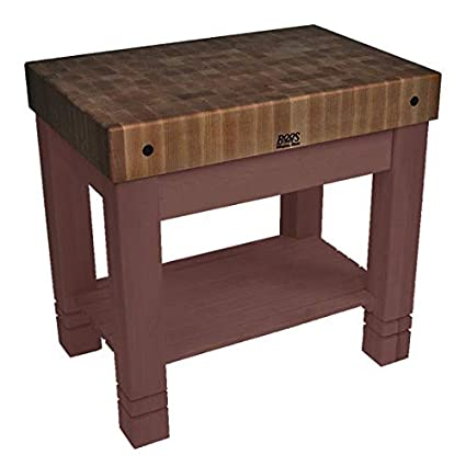 Cool Amazon Com John Boos Kitchen Work Table Homestead Block Squirreltailoven Fun Painted Chair Ideas Images Squirreltailovenorg