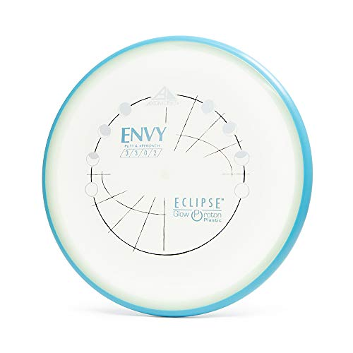Axiom Discs Eclipse Glow Proton Envy Putter Golf Disc [Colors May Vary] - 170-175g