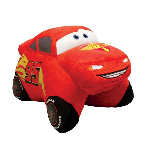 Pee Wee Race - Pillow Pets, Pee Wees, Disney/Pixar Cars 2 Movie, Lightning McQueen, 11 Inches