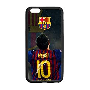 FC Barcelona Lionel Messi iphone 6 Cell Phone Cases Cover Popular Gifts(Laster Technology)