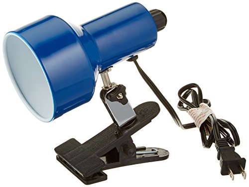 Lite Source LSF-114BLU II Clip-on Lite with Blue Shade