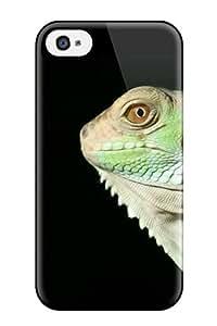 Iphone Perfect Tpu Case For Iphone 4/4s Anti Scratch Protector Case Iguana