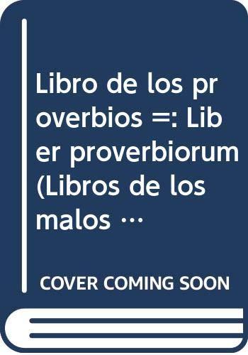 El Libro de los Proverbios (Libros de los Malos Tiempos) Ramón Llull