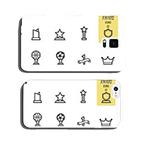 Set of award icons. Vector illustration. cell phone cover case iPhone6 Plus
