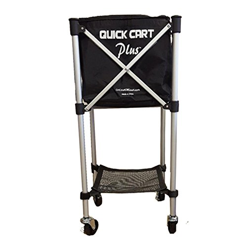 - On Court Off Court Quick Cart Plus Canvas Tennis Ball Cart