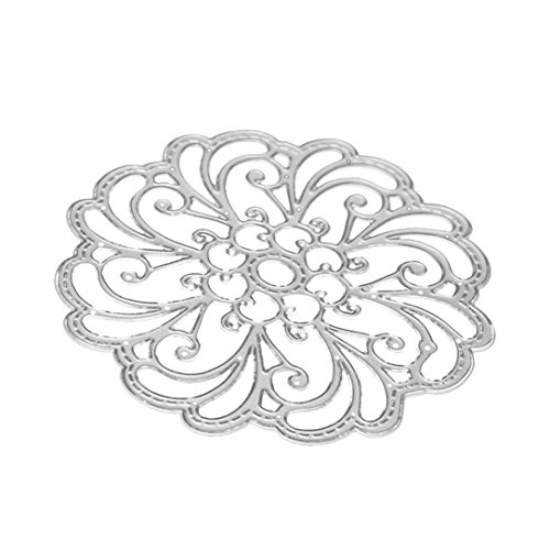 Cutting Dies for Card Making, Staron Metal Cutting Dies Stencil Flower Hearts Happy Birthday Cut Die Template Mould for DIY Scrapbook Embossing Album Paper Card Craft (R) by Staron (Image #5)