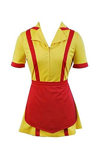 Halloween Waitress Costume Uniform Cosplay Fancy Dress Party Costume X-Large