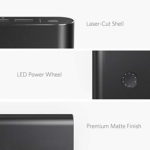 Anker PowerCore+ 26800, Premium Portable Charger, High Capacity 26800mAh External Battery with Qualcomm Quick Charge 3.0 (in- and Output), Includes PowerPort+ 1 Wall Charger by Anker (Image #4)