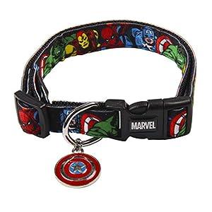 Cerda-LifeS-Little-Moments-Collar-Perro-Marvel-para-Perro-Mini-Licencia-Oficial-Disney-Marvel